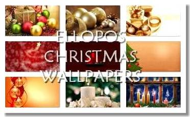 Ellopos Christmas Wallpapers