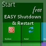 Easy Shutdown, Restart, Log Off even on Windows 8
